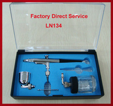 hot selling airbrush for decorating cakes LN-134 for tattoo nails painting car and body