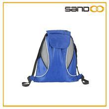 Drawstring back pack, waterproof sport drawstring gym bag