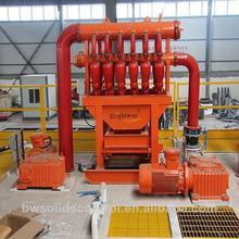 oil well tricone drill bit drilling desilter solids control desilter machine in oil field