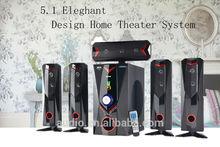 Perfect design surround sound speaker system with super bass