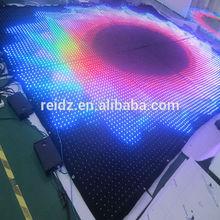 see-through Soft LED video curtain screen car decor
