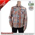 100% camisetas de algodón tejida/los hombres camisas de tejido/vestido de algodón camisa
