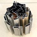 Suministro alta calidad aluminio perfil para armarios de cocina, armarios y recinto ducha