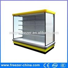 Free combination Combine disply upright Freezer,display vegetable and fuit freezer ,commerical freezer