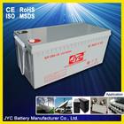 12 volts ups batteries for ups 200ah