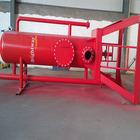 oil well drilling elevator link wellhead mud gas separator