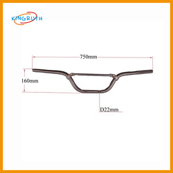 China dirt bike alloy high performance carbon handle bar
