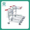 Venta caliente de la carretilla almacén de la tienda carros carros de logística para el supermercado js-twt05