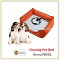 Intérieure chauffée/extérieur. lit pour chien orthopédiques légumesgarde animal au chaud que le temps se refroidit tapis chauffants pour animaux de compagnie