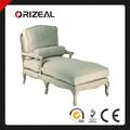 Francês antigo sofá de madeira oz-sw-123