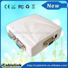 1X4 SVGA VGA QUAD SPLITTER MATRIX Switcher Splitter Amplifier Multiplier 250MHz