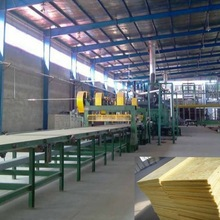 High Quality Automatic Glass Wool Insulation Production Line Machine