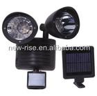 22 LED Solar Power Rechargeable PIR Motion Sensor Security Light