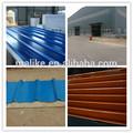 china de zinc onduladas para techos de chapa ondulada recubiertos de color de chapa de acero con el precio