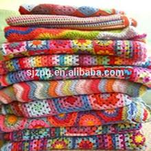 Handmade crochet blankets , knitted blanket, baby crochet blanket