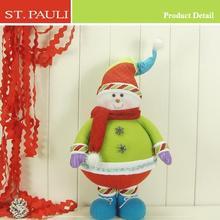 2015 hot sale christmas noel standing snowman