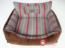 2014 Hot sale Cute High quality Polar Fleece dog bed / fabrics for dog beds / luxury pet dog beds