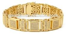 22K gold jewelry men bangles