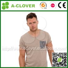 Wholesale custom t shirt with pocket