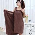 Gaoyang mikrofiber kumaş sihirli tasarım havlu şal elbise, havlu elbise çocuk, bayan plaj havlusu
