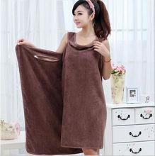 Gaoyang Microfiber Fabric Magic Design Towel Wrap Dress,Towel Dress Children ,Lady Beach Towel