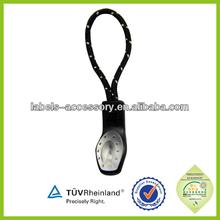 stylish cord ring zip pull handbag zipper pulls