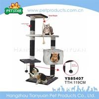 Wholesale Plush Large Cat Tree House,Cat Scratching Tree,Climbing Cat Tree