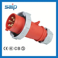 New Generation Series Screw Install Type 4-pin female power plug