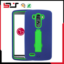 Hybrid fashion design armor compact mobile phone case for lg g3