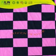 DTY knitted fabric printed 4 way stretch milk silk
