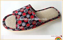 2015 summer unisex black straw slippers wholesale