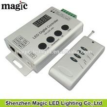 LED Digital strip DMX 512 Decoder 133 effects preset,Control 2048pixel RF wireless synchronistical (synchronized)