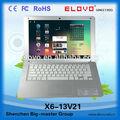 Comprar barato ordenadores portátiles de la computadora en china pulgadas 13.3 via8880 de doble núcleo de ordenadores portátiles de los precios en china
