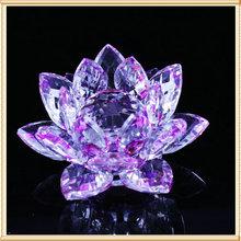 Purple Crystal Lotus Wedding Gifts For Wedding Gifts
