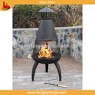 Kingjoy- hot sale outdoor fireplace steel chimeneas