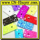 Soft Gel Skin With Cube Triangle Design Cover tpu phone case tpu case for iphone 5 5S
