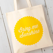 premium fashionable 100% cotton tote bags for promotion