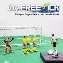 Freekick - U14 app toy, Mobile soccer gadget, smart phone