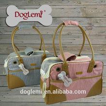Designer Classic Striped Pet Bag Dog Pack Cat Pack Dog Backpack Pet Carrier Portable Pet Dog Bag