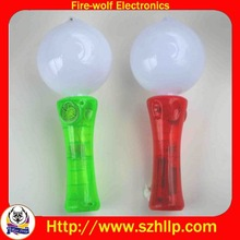 High quality spin ball promotion small gift toys led flashing promotion small gift toys