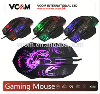 Vcom laser mouse for gaming mouse gaming optical mouse