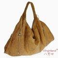 8846 di alta qualità della moda fatti a mano italiane vera borsa hobo in pelle borsa- colore marrone