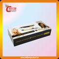 Impreso de color de pantone horquilla de madera, embalaje elegante