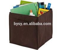 Christmas gift cube folding storage stool