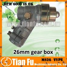 Square 6mm gasoline 52cc brush cutter head