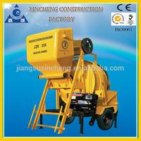 Diesel Engine Small Concrete Mixing Plant!Cheap price concrete mixer! JZR350 mixing beton machinery