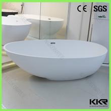 Freestanding bathtub solid surface red bathtub 1 person hot tub