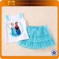 China atacado verão 2014 criança roupas personalizadas com o nome da marca/miúdos vestuário sets