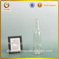Ocas de vidro mini garrafa de álcool com cortiça/vazio frasco de vidro para vinho preços/pequeno frasco de vidro de madeira rolha de cortiça