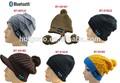 Knit crânio tampas gorro de inverno chapéus bluetooth beanie hat